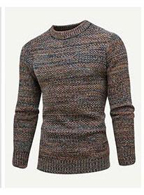 Мужский разноцветный свитер