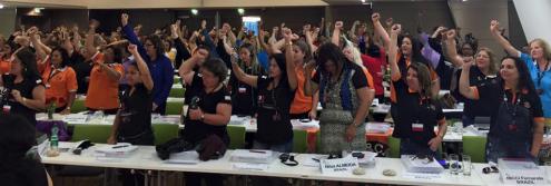 Женская конференция IndustriALL: Только вперед, ни шагу назад!