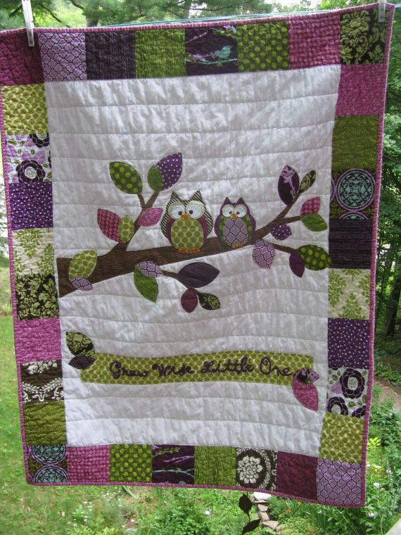 Love this Owl Quilt
