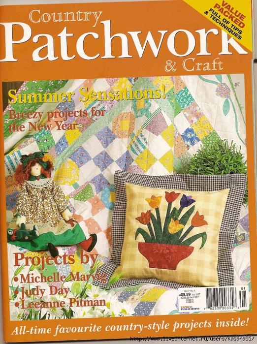 Country Patchwork & craft  vol 2 nº4 (522x700, 423Kb)
