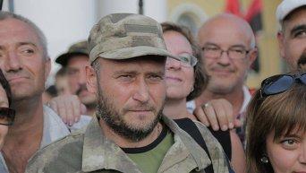 Глава Правого сектора Дмитрий Ярош. Архивное фото