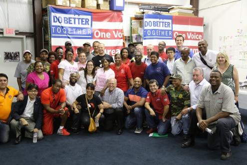 Кампания UAW по объединению работников юга получила глобальную поддержку