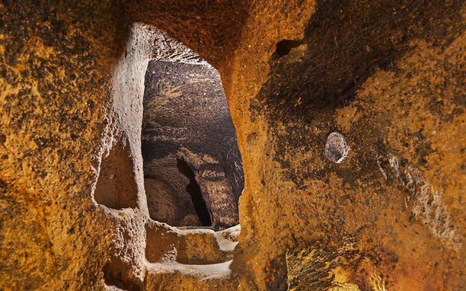 Фото Подземный город Деринкую, Турция