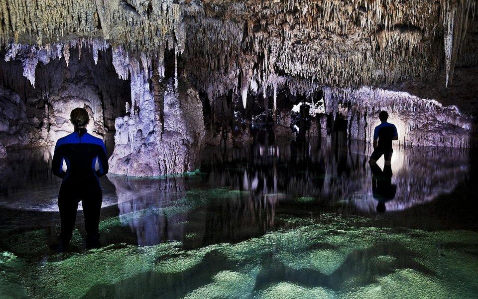 Фото Подземные реки Юкатана, Мексика
