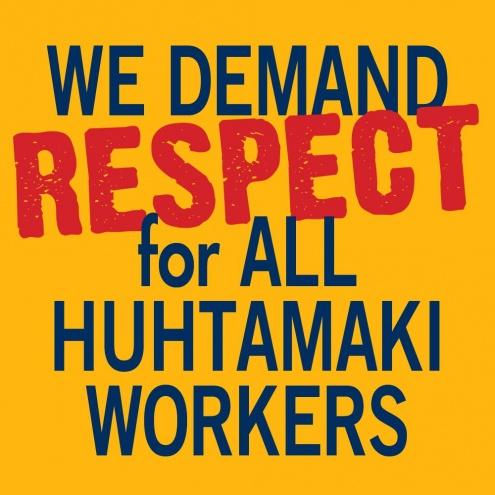 Протесты профсоюзов мира сотрясают Huhtamaki
