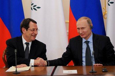 Пресс-конференция по итогам российско-кипрских переговоров. С Президентом Республики Кипр Никосом Анастасиадисом.