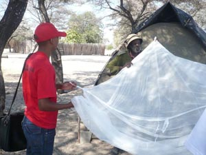 Eradication of Malaria Project students