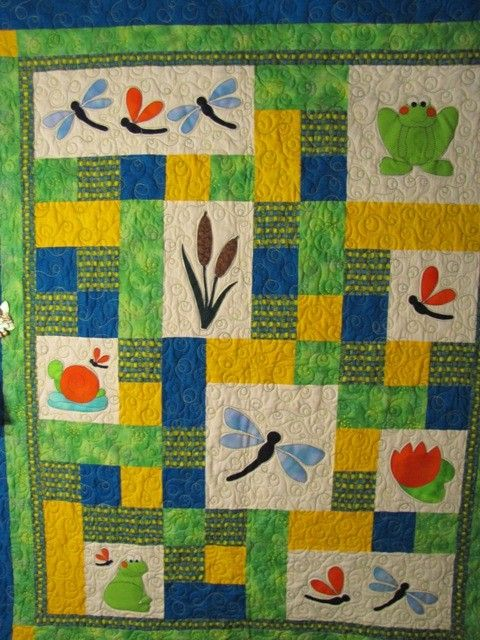 PATTERN  PDF  Baby Quilt  child  throw  quilt  by pixieharmony, $5.95