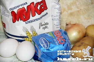 Галушки украинские