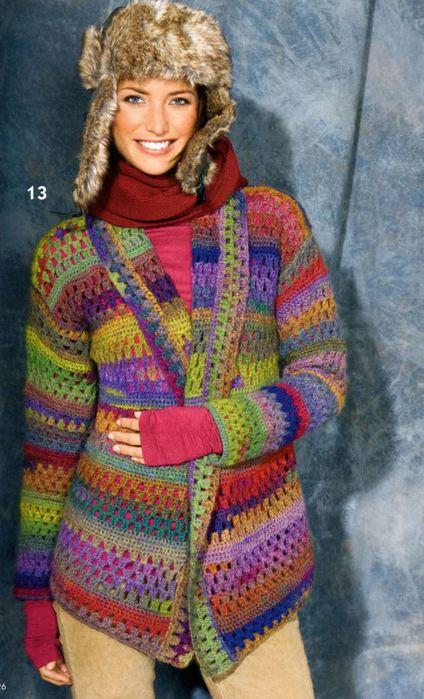 Кофточки,свитера,кардиганы,джемпера,жилеты,топики... - Страница 3 105283482_1