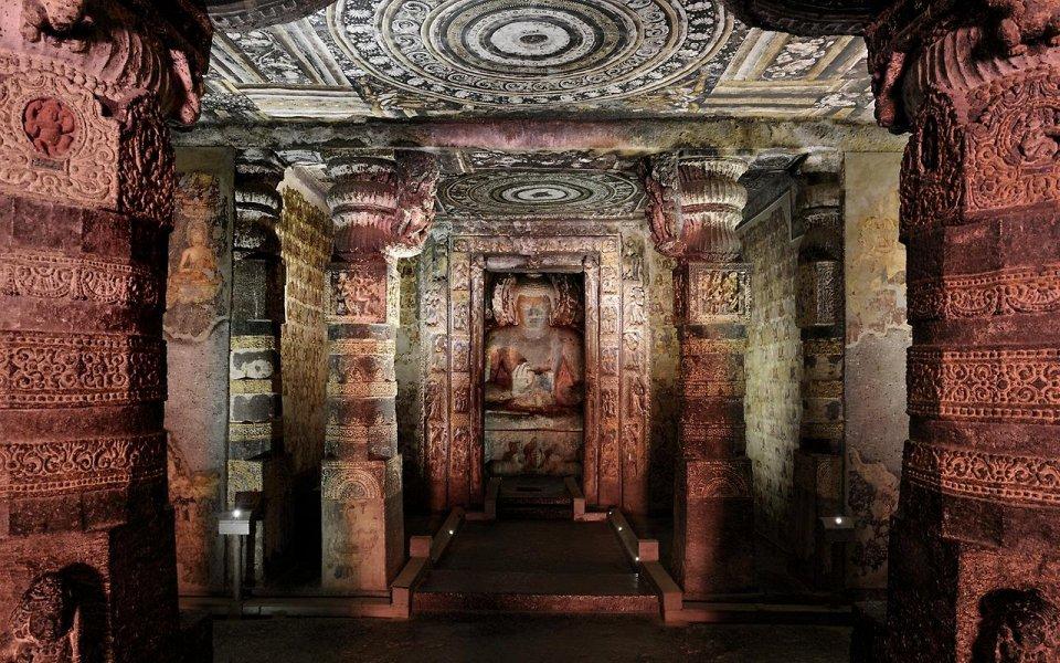 Фото Пещеры Аджанта, Индия
