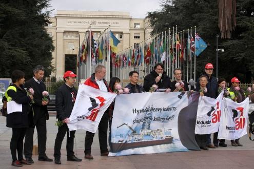 Корейские профсоюзы бьют тревогу, сообщая миру о гибели рабочих на верфях Hyundai
