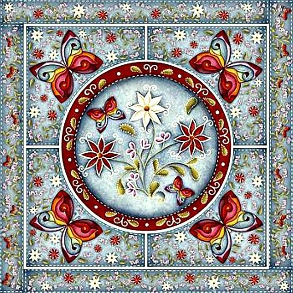 Mandala Flor-de (600x600, 394Kb)