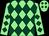 Light green and dark green diamonds