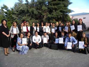 Workshop in Tajikistan