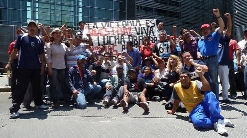 Победа рабочих Vidriera de San Potosí в Мексике досталась нелегкой ценой