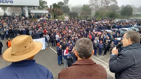 Самая продолжительная забастовка в истории Volvo в Бразилии завершилась через 24 дня
