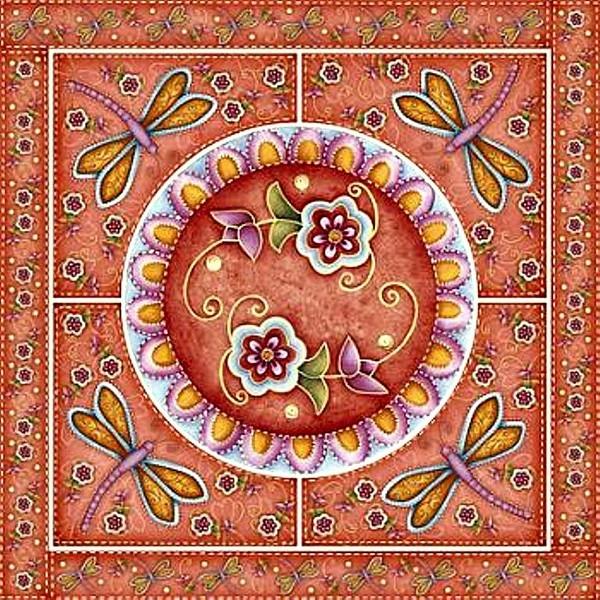 Mandala Flor-de (600x600, 366Kb)