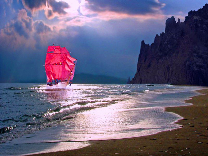 Red  sails Wallpaper__yvt2 (700x525, 384Kb)