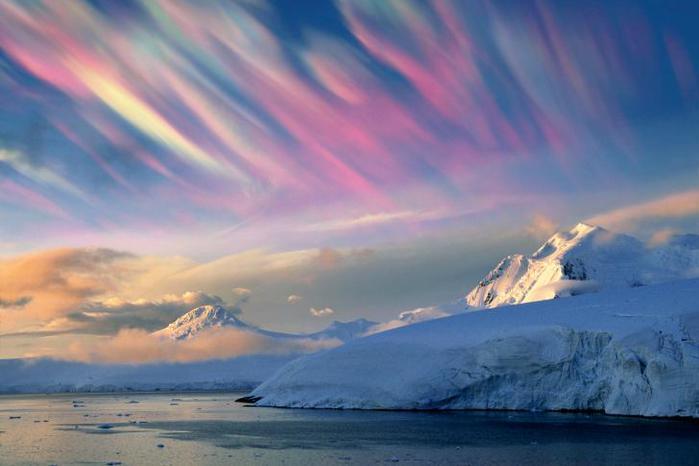 Перламутровые облака! Редкое, но красивое явление!